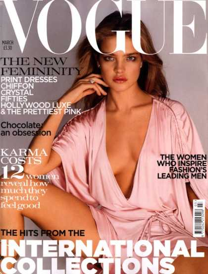 Vogue - Natalia Vodianova - March, 2004