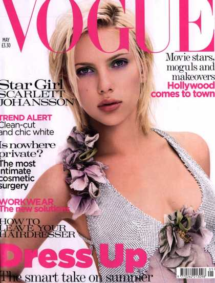 Vogue - Scarlett Johansson - May, 2004