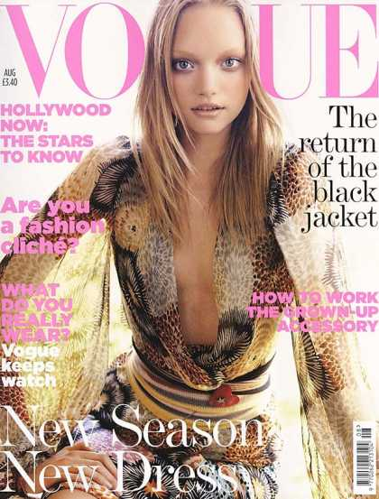 Vogue - Gemma Ward - August, 2005