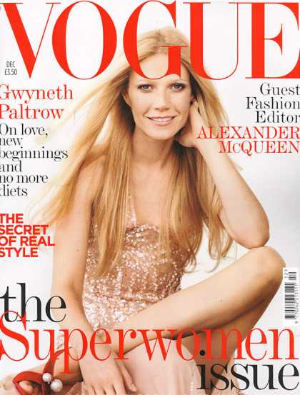 Vogue - Gwyneth Paltrow - December, 2005