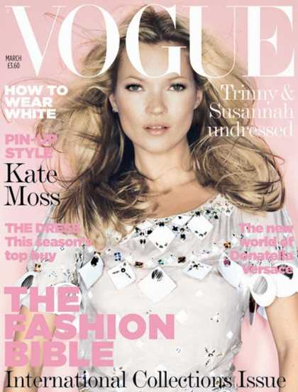 Vogue - Kate Moss - March, 2006