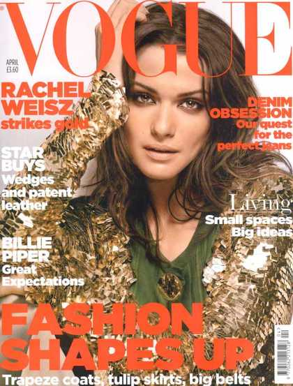 Vogue - Rachel Weisz - April, 2006