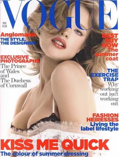 Vogue - Natalia Vodianova - May, 2006