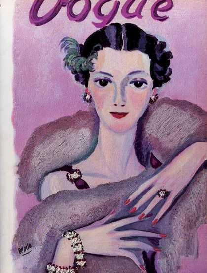 Vogue - November, 1934