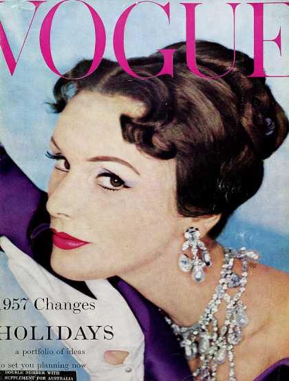 Vogue - January, 1957