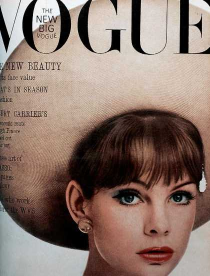 Vogue - Jean Shrimpton - May, 1963