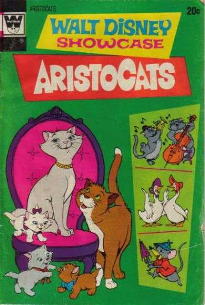 Walt Disney Showcase 16 - Cats - Jazz - Chair - Kittens - Mouse