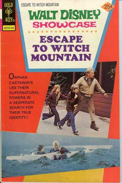 Walt Disney Showcase 29 - Disney - Comic - Gold Key - Witch Mountain - Escape