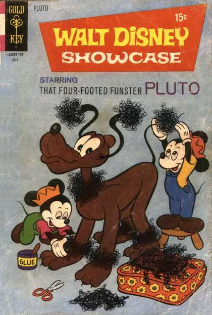 Walt Disney Showcase 4 - Dog - Pillow - Mickt Mouse - Crown - Nicklace