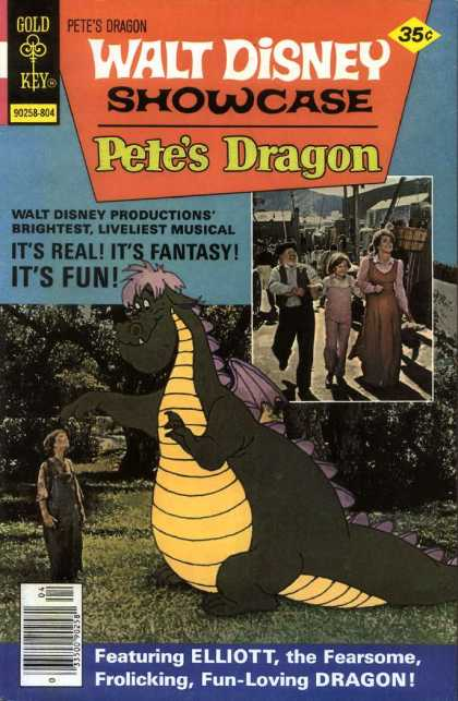 Walt Disney Showcase 43 - Petes Dragon - Elliot - Dragon - Pete - Musical