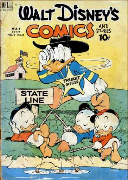 Walt Disney's Comics and Stories 104