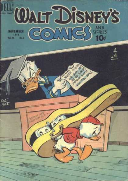 Walt Disney's Comics and Stories 110 - Dell - November - Spectacle - Paper - No2