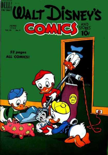 Walt Disney's Comics and Stories 117