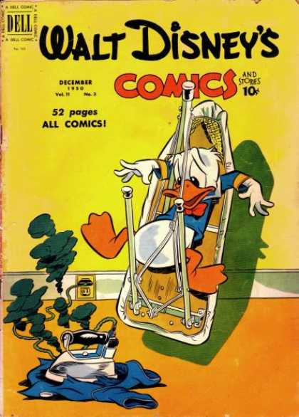 Walt Disney's Comics and Stories 123