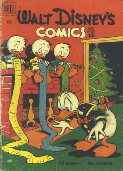 Walt Disney's Comics and Stories 124