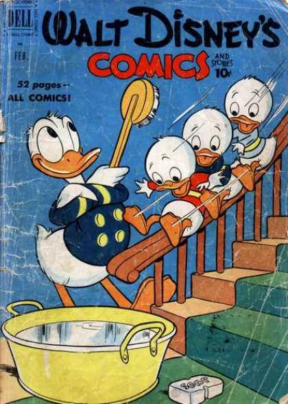 Walt Disney's Comics and Stories 125