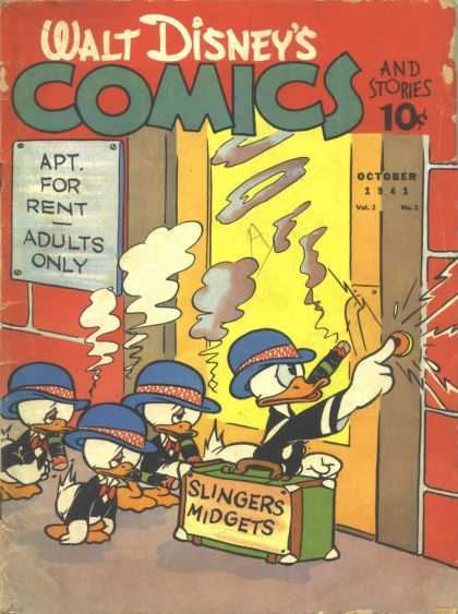 Walt Disney's Comics and Stories 13 - Donald Duck - Huey Duey And Louie - Carl Banks - Uncle Scrooge - Funny Animals