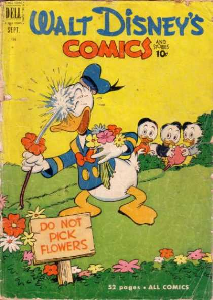 Walt Disney's Comics and Stories 132