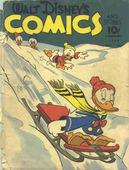 Walt Disney's Comics and Stories 17 - Disney - Disney Comics - Walt Disney - Snow - Donald Duck