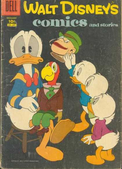Walt Disney's Comics and Stories 207