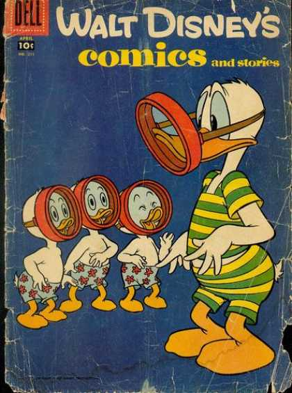 Walt Disney's Comics and Stories 211