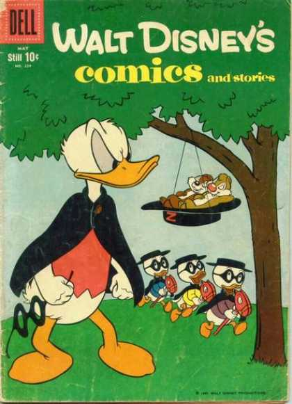 Walt Disney's Comics and Stories 224