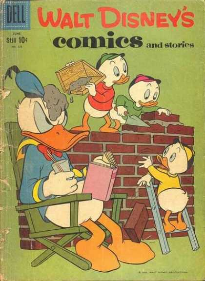 Walt Disney's Comics and Stories 225