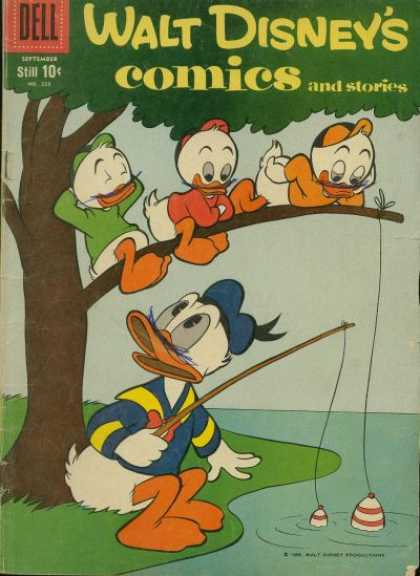 Walt Disney's Comics and Stories 228