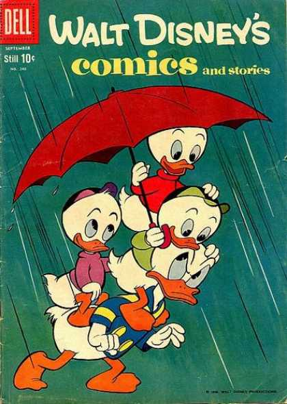 Walt Disney's Comics and Stories 240