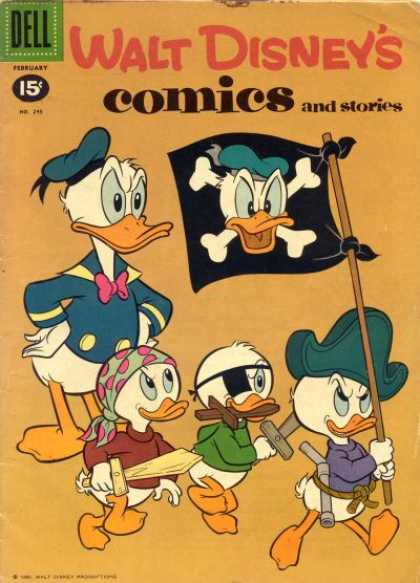 Walt Disney's Comics and Stories 245