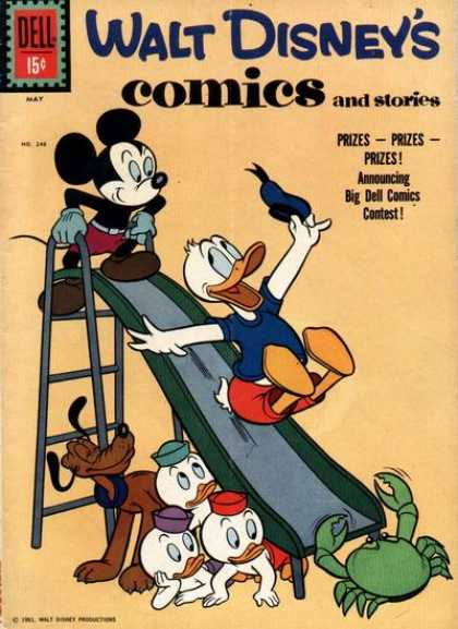 Walt Disney's Comics and Stories 248
