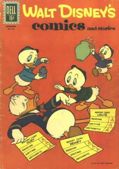 Walt Disney's Comics and Stories 255 - Disney - Disney Comics - Donald Duck - Louie - School