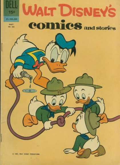 Walt Disney's Comics and Stories 260 - Walt Disney - Comics And Stories - Donald Duck - Hose - Huey Duey And Luey