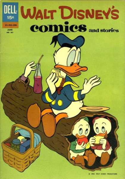 Walt Disney's Comics and Stories 261