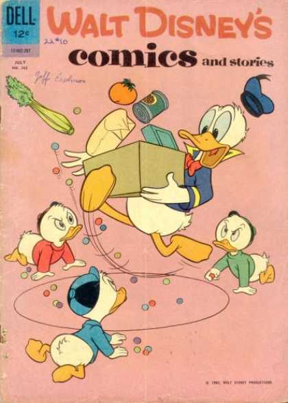 Walt Disney's Comics and Stories 262