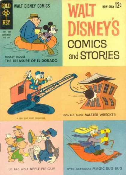 Walt Disney's Comics and Stories 264