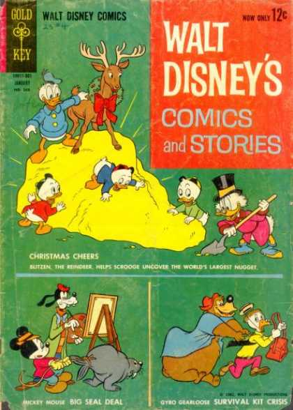 Walt Disney's Comics and Stories 268
