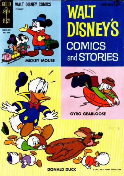 Walt Disney's Comics and Stories 269