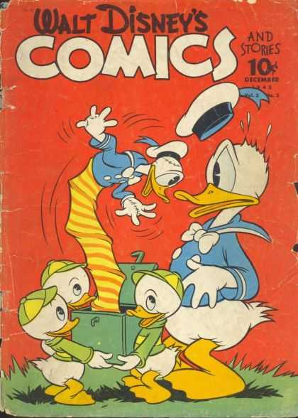 Walt Disney's Comics and Stories 27