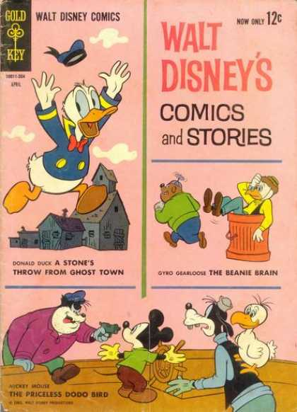 Walt Disney's Comics and Stories 271 - Duck - Mouse - Dog - Birds - Garbage Can