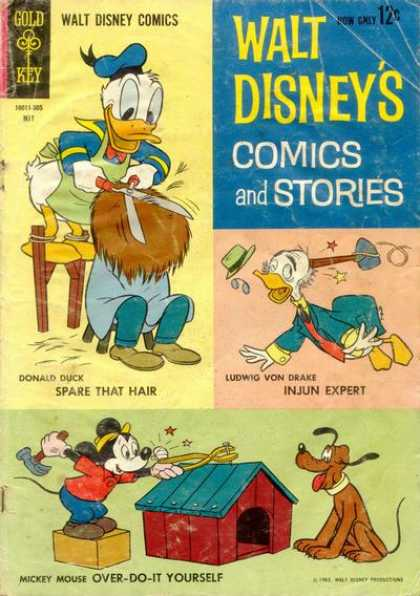 Walt Disney's Comics and Stories 272