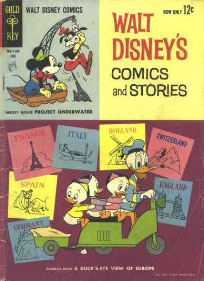 Walt Disney's Comics and Stories 273