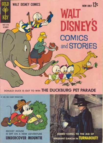 Walt Disney's Comics and Stories 277