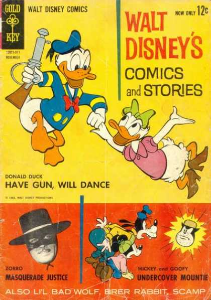 Walt Disney's Comics and Stories 278 - Zorro - Mickey And Goofy - Undercover Mountie - Masquerade Justice - Have Gunwill Dance