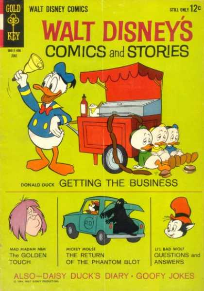 Walt Disney's Comics and Stories 285 - Donald Duck - Walt Disney Comics - Mad Madam Min - Phantom Blot - Daisy Duck Diary