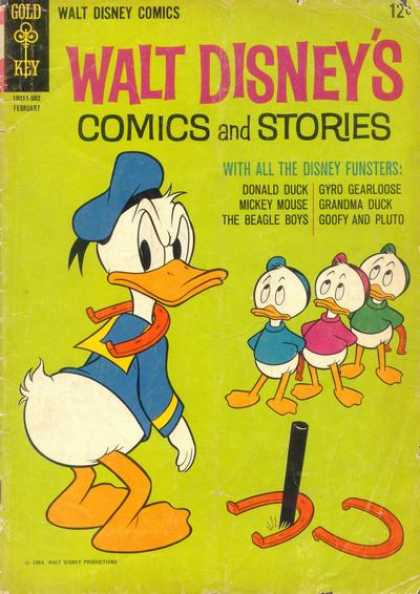Walt Disney's Comics and Stories 293 - Walt Disneys Comics And Stories - Donald Duck - Horseshoe - The Beagle Boys - Goofy And Pluto