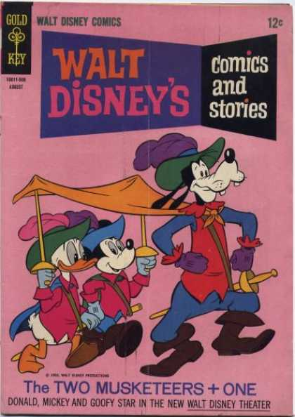Walt Disney's Comics and Stories 299 - The Two Musketeers One - Goofy - Donald Duck - Micky Mouse - Walt Disneys Comics And Stories