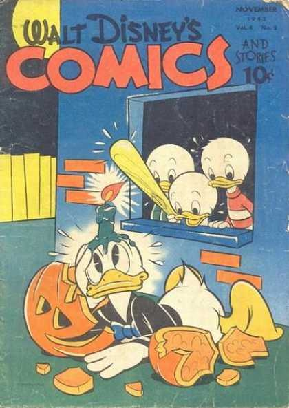 Walt Disney's Comics and Stories 38 - Donald Duck - Billy - Villy - Dilly - Baseball Bat
