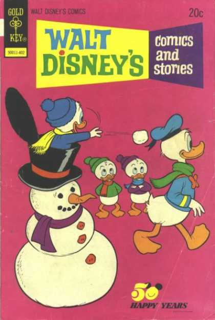 Walt Disney's Comics and Stories 401 - Gold Key - Walt Disneys - Comics And Stories - 50 Happy Years - Snowman
