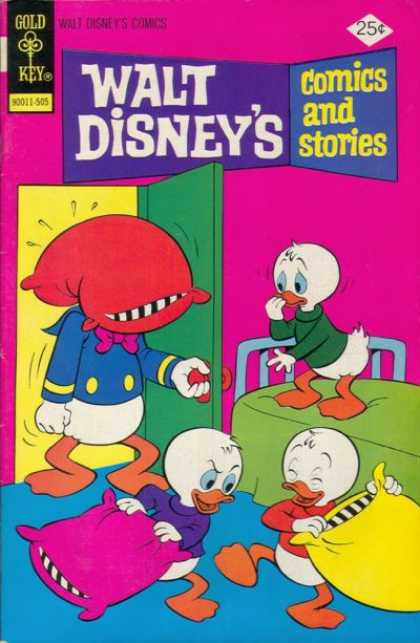 Walt Disney's Comics and Stories 416 - Donald Duck - Huey - Dewie - Louie - Pillow Fight